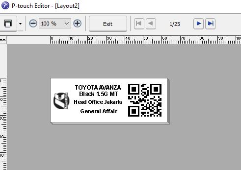 Print Label Menggunakan Label Printer Brother Pt P900w Panduan Asetkita